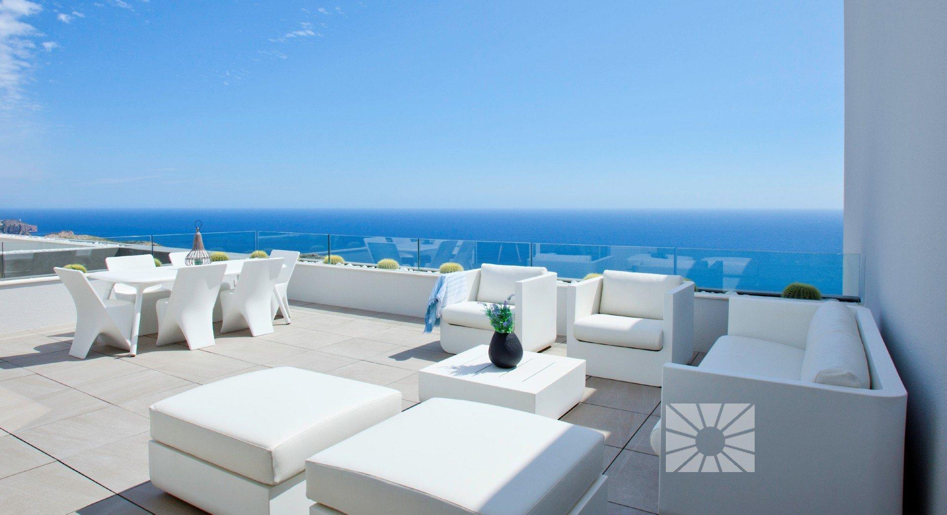 Luxe appartementen met prachtig zeezicht