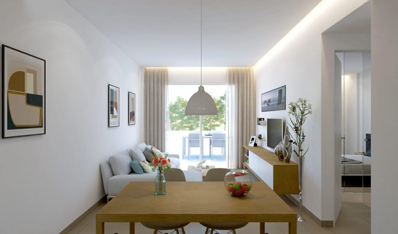 Leuke nieuwe appartementen in centrum Pilar de La Horadada (Costa Calida)