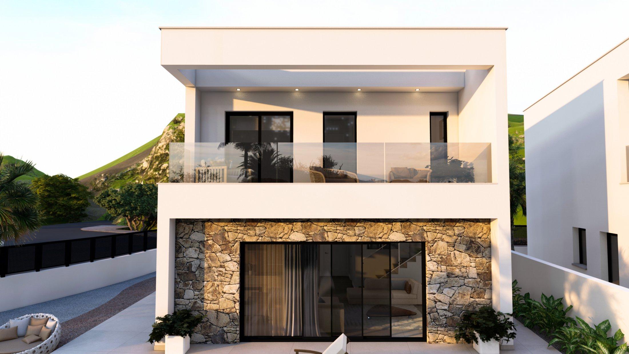 Prachtige villa in Privé urbanisatie vlakbij strand (Costa Calida)