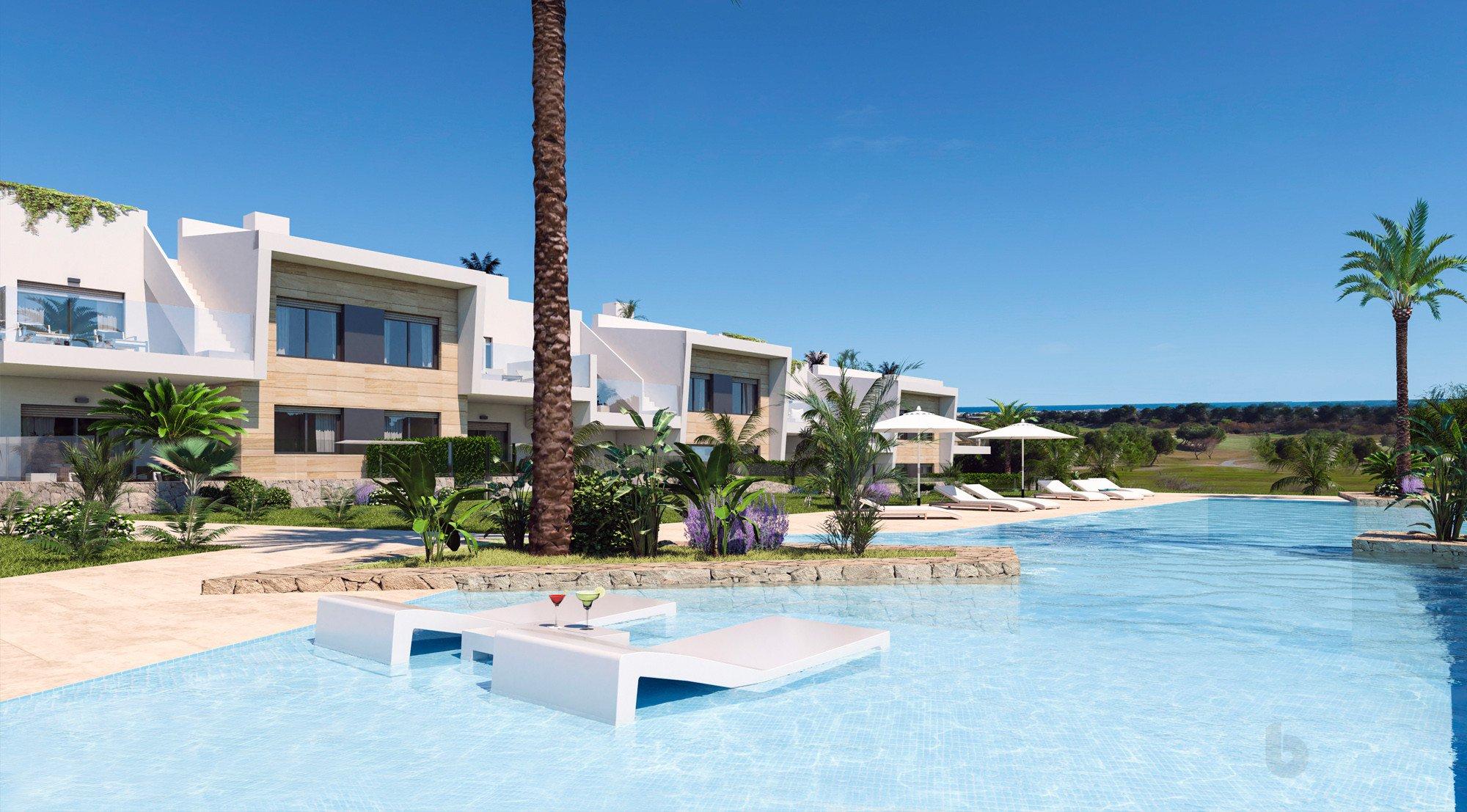 Leuke appartementen bij golfterrein in Pilar de la Horadada